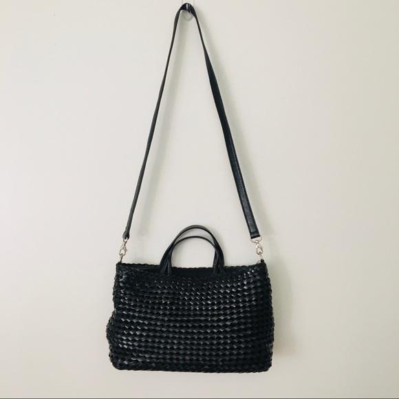 HOBO Handbags - Hobo Black Basket Weave Purse